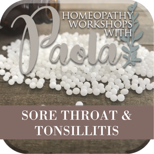 Homegrown Sore Throat & Tonsillitis Workshop