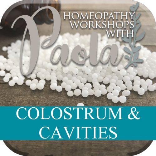 Colostrum & Cavities with Paola