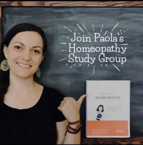 Paola's Homeopathy Study Group
