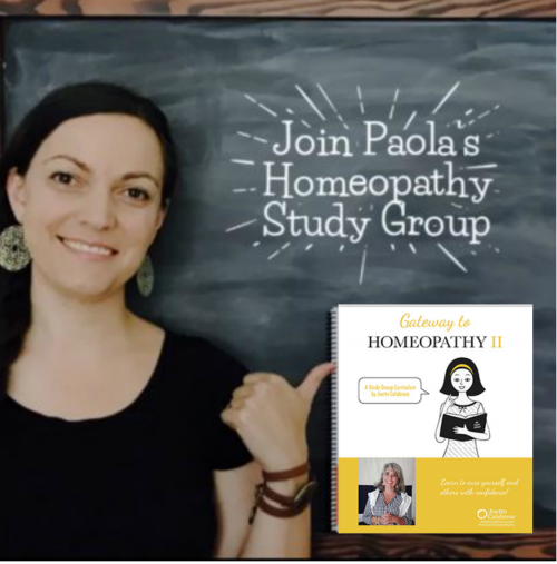 Paola's Homeopathy Study Group II